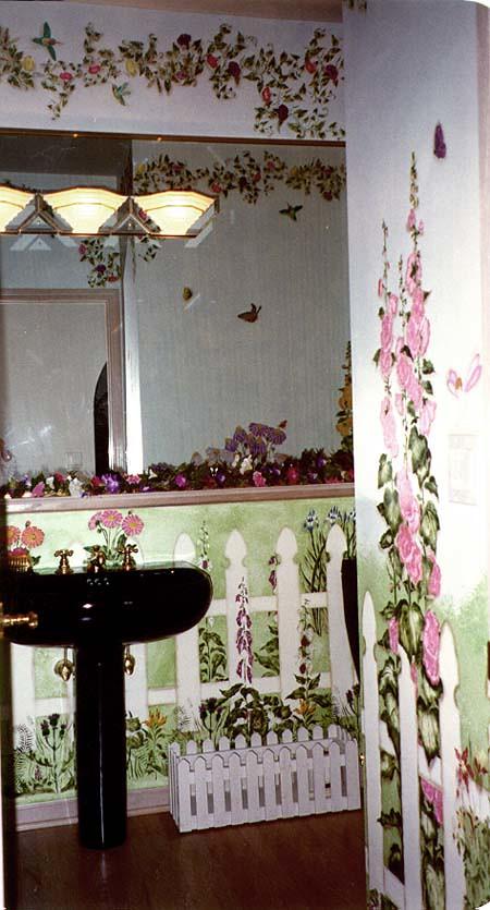 English Garden Bathroom