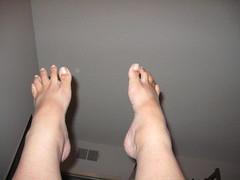 leg lifts 015 (neovictorian) Tags: selfportrait feet dance exercise leg 365 lifts