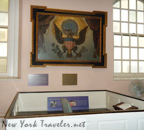 Great Seal Washingtons Pew