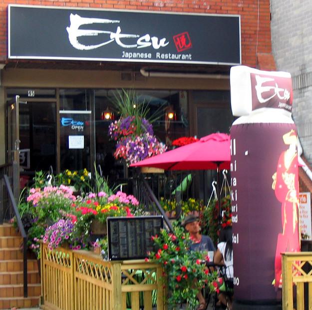 Etsu Japanese Restaurant, Toronto