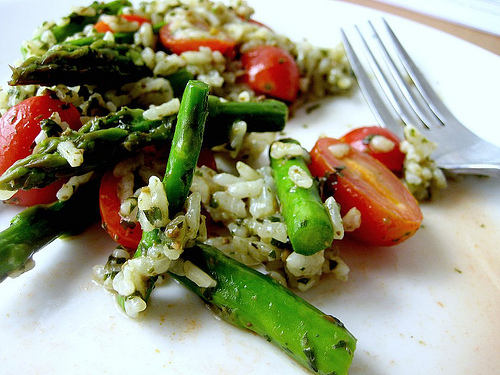 Pesto Rice Salad @ Eats Well With Others
