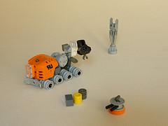 Logistics Rover (Pierre E Fieschi) Tags: lego pierre rover micro logistics microspace fieschi microscale microspacetopia