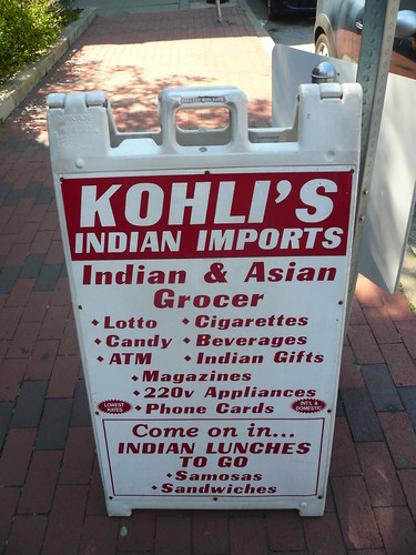 Kohli's - for samosas