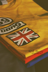 Random Shot.. (- M7D . S h R a T y) Tags: uk blue orange yellow logo random 9 tshirt british allrightsreserved