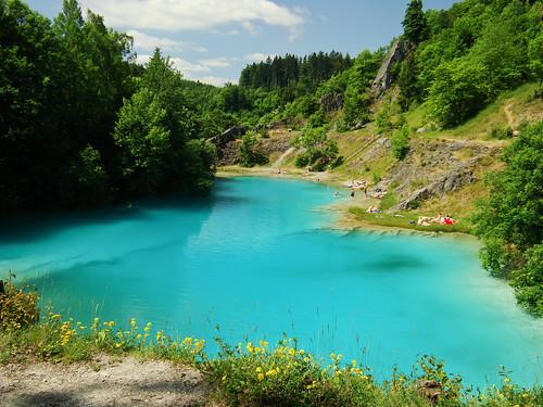 Der blauer See