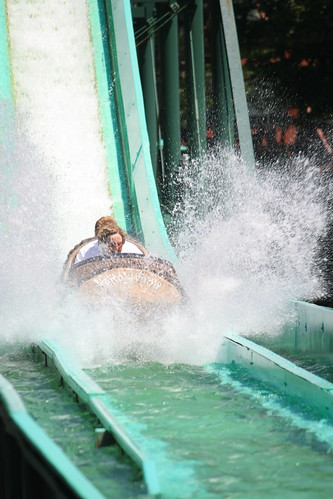 Log Jammer Splashdown