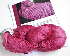 Year of Lace-June 2010-Abigail by JC Briar-785yds Blue Moon Fiber Arts-Geisha-mohair-mulberry silk-nylon