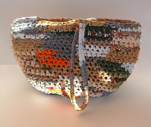 Camo Plarn Ditty Bag