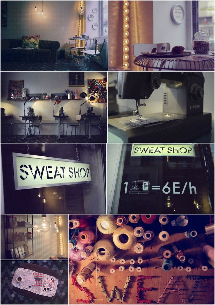 DIY cafe Sweat Shop paris 3