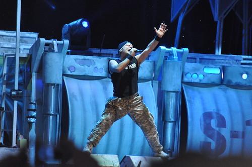 Iron Maiden at Ottawa Bluesfest 2010