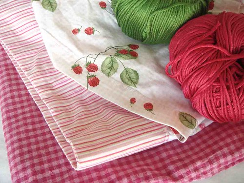 fabric and yarn