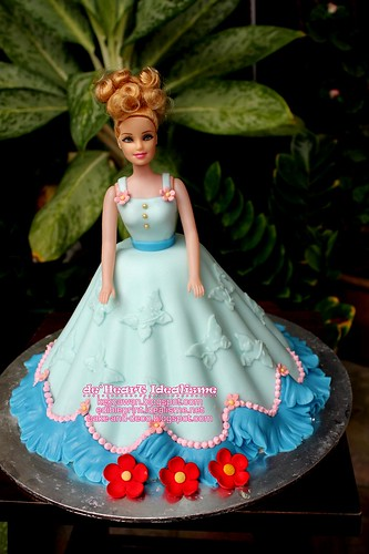 Fondant Princess Doll Cake