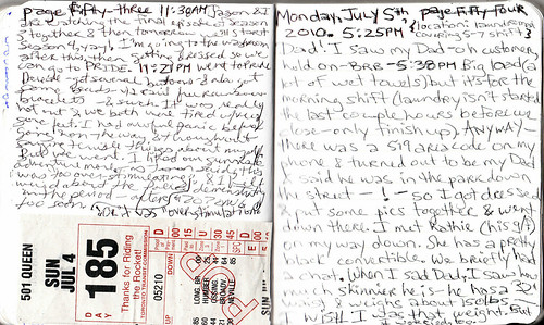 Journal #25 pages 53 & 54