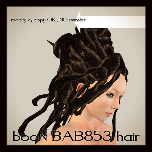 booN BAB853hair
