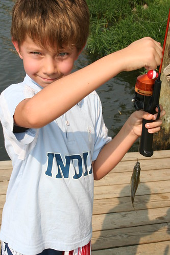 Jonathon caught fish #1.