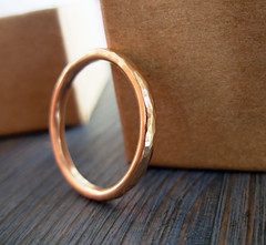 14K Red Gold Hammered Textured Band Wedding Ring (or NOT...) (Noa Sharon Designs) Tags: wedding red art metal gold design israel hammered hand handmade or band sharon jewelry ring special made gift metalwork designs 14k etsy delicate textured noa   noasharon httpwwwnoasharoncom noasharondesigns