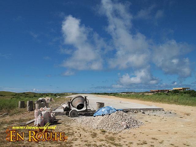 Itbayat Airport still under construction