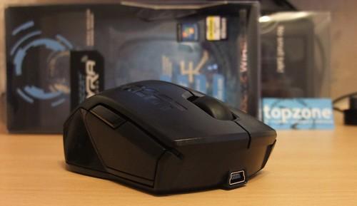 Roccat Pyra Wireless: bevielė žaidimų pelytė