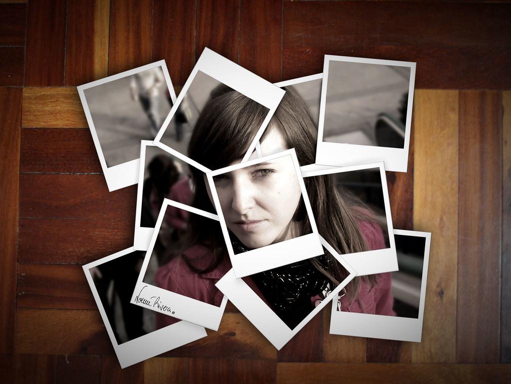 Autorretratoen polaroid