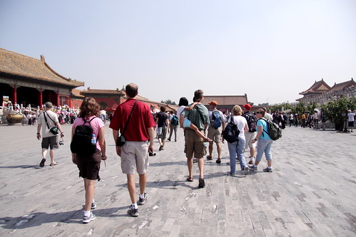 forbidden city, travel group