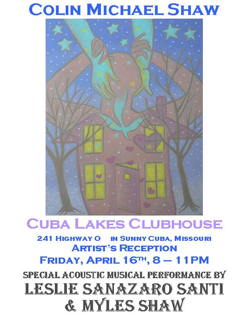 ClubHouse Show April 2010 by ShawArtcom