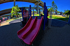 Chicano Park-19 (ASHCROFT54) Tags: playground photoshop canon sandiego wideangle slide icon fisheye vivitar hdr chicanopark f35 7mm mexicanculture barriologan tinarice 40d loganheights dynamicphotohdr callfornia ashcroft54 topazdenoise topazdetail underpassofcoronadobridge mexicanheitage fisheyepersspective