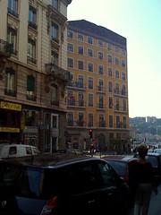 Fassadenmalerei in Lyon