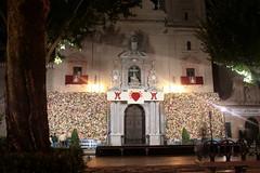 Granada bei Nacht, Andalusien