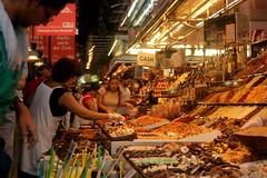 Marktimpressionen vom St. Josep La Boqueria, Barcelona, Katalonien
