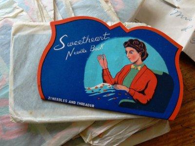 Vintage needlebook