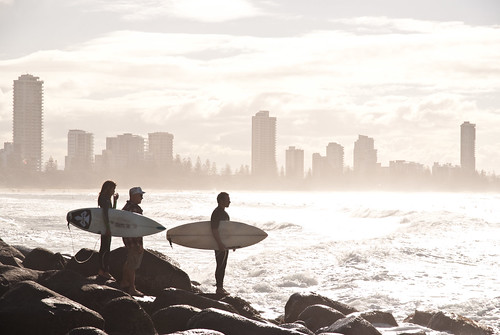 [Free Image] Exercise/Sport, Water Sports, People and Scenery, Surfing/Surfer, 201007150500