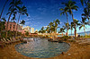 Poolside (/\ltus) Tags: hawaii pentax waikiki handheld sheraton hdr royalhawaiian k7 5xp waikikisheraton