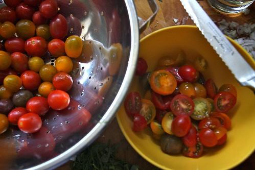 tomato halving
