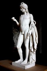 Paris 1 (noriko.stardust) Tags: sculpture paris male art apple statue museum greek golden sweden stockholm craft national figure marble mythology myth