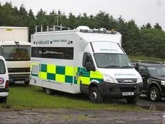 Iveco Daily 65c18/? Control unit (barronr) Tags: music festival scotland concert mud drink perthshire ambulance tinthepark firstaid ballado scottishambulanceservice