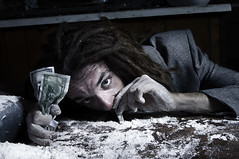 (Jon Church) Tags: red money abandoned dark weird gangster gun coke cash drugs wtf briefcase gat cocaine glock dreds crackhead dredlock