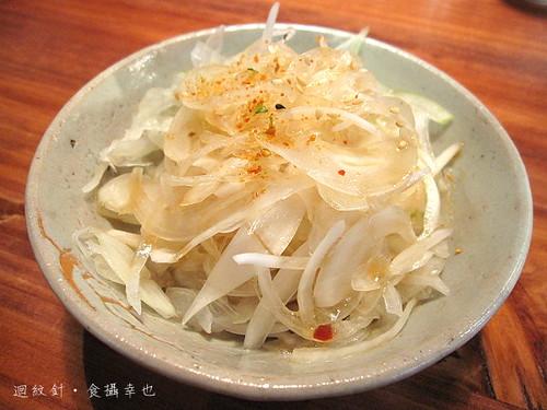 豐盛食堂涼拌洋蔥小菜