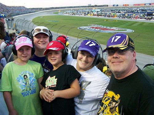Family At At the Sprint Cup :)