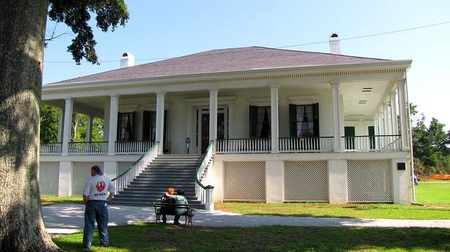 Restored Jefferson Davis home