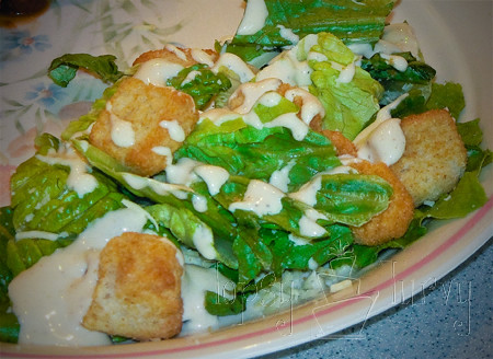 creamy Caesar salad dressing recipe