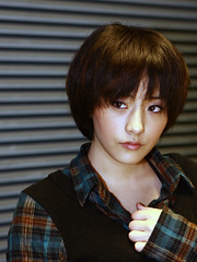 [フリー画像] 人物, 女性, アジア女性, 台湾人, ショートヘア, 201007150300