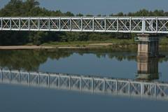 Bridge (Jan-vdK) Tags: bridge mirror la spiegel pont brug bourgogne loire laloire brcke decise bourgondy