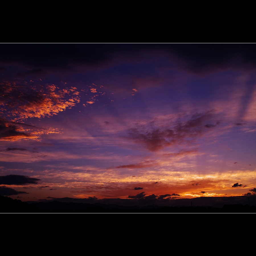 K7的晨昏色彩