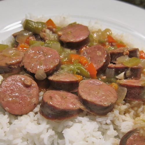 Smoked Sausage Gumbo