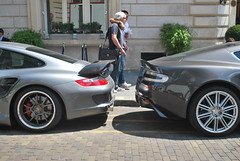 Porsche - Aston (Matt-Hill) Tags: 3 paris france london love car wales matt french nikon automobile hill voiture monaco arab belle loud spotting 2010 supercars v12 arabs d60 carspotter hypercars capiltal