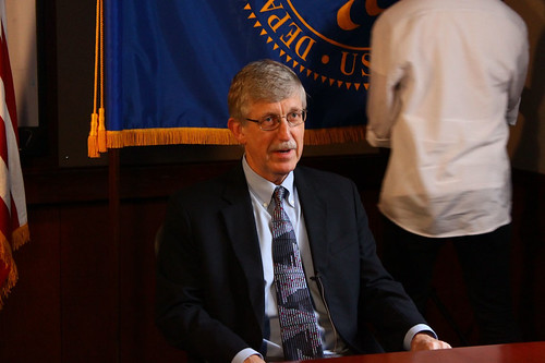 Dr. Francis Collins at NIH