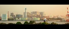 On Patrol (Ghost of Kuji) Tags: anime japan tokyo bay robot industrial odaiba gundam