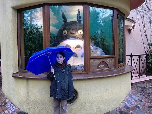 Ghibli Museum Entrance, Totoro