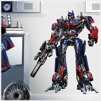 Optimus Prime Transformers Decal