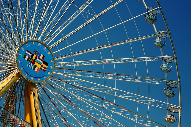 this is not a Ferris  wheel